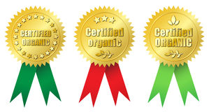 Certified Organic Royalty Free Stock Image