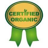Certified organic Stock Image