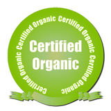 Certified Organic Seal Royalty Free Stock Image