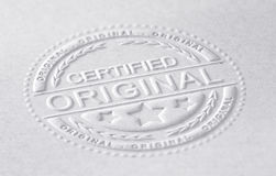Certified Original Stock Photos
