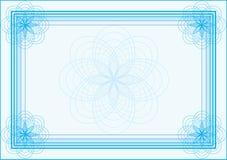 certifikat vektor illustrationer