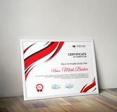 certifikat Royaltyfria Foton