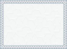 Certifikat diplom för tryck Royaltyfria Foton