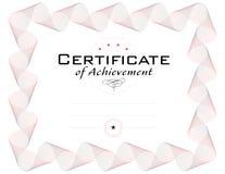 certifikatdiplommall Arkivbild