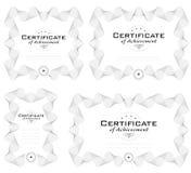 certifikatdiplommall Royaltyfria Bilder