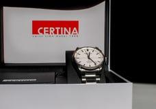 Certina DS-1自动手表 库存图片