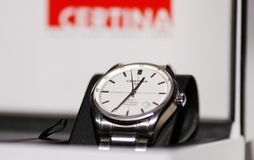 Certina DS-1自动手表 免版税库存图片