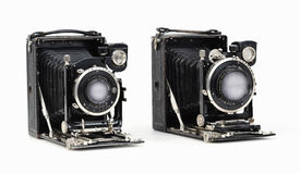Certo Certotrop 6 5x9cm med utbytbara Tessar 3 5/10 5cm fotografering för bildbyråer