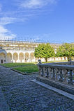 Certosa church in naples Stock Images