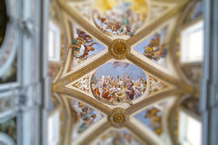 Certosa church in naples Royalty Free Stock Photo