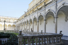 Certosa church in naples Royalty Free Stock Images