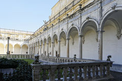 Certosa church in naples Royalty Free Stock Photography