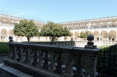 Certosa church in naples Royalty Free Stock Image