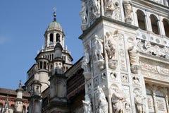 Certosa de Pavía foto de archivo