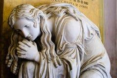 Certosa di Bologna, estatua Foto de archivo libre de regalías