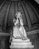 Certosa di Bologna, estatua Imagen de archivo