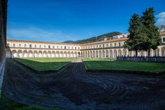 Certosa di Padula, Salerno Италия Стоковое Изображение
