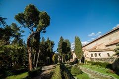 Certosa di Padula, Salerno Италия Стоковая Фотография