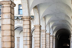 Certosa di Padula, Salerno italy Arkivfoton