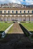 Certosa di Padula, Salerno italy Arkivbild
