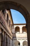 Certosa di Padula, Salerno l'Italie Images stock