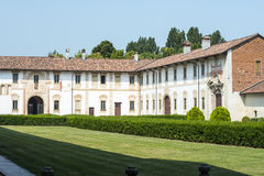 Certosa di Pavia Royalty Free Stock Photo