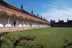 Certosa Di Pavia of Charterhouse van Pavia Royalty-vrije Stock Foto