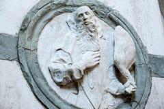 Certosa di Pavia, church Royalty Free Stock Photography