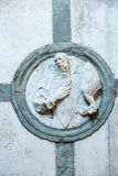 Certosa di Pavia, church Stock Image