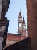 Certosa di Pavia. External image of the church, Stock Image