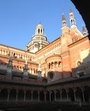 The Certosa di Pavia Royalty Free Stock Photo