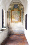 Certosa di Pavia, internal detail. Color image Stock Images