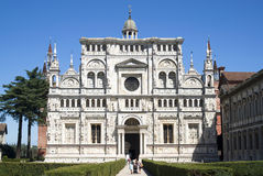 Certosa di Pavia. Italian monastery Royalty Free Stock Photography
