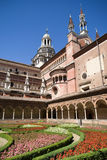 Certosa di Pavia. Italian monastery Royalty Free Stock Photos