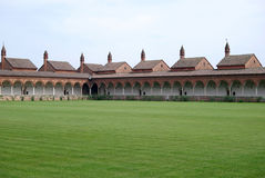 Certosa di Pavia. Italian monastery Royalty Free Stock Image