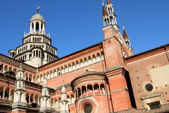 Certosa di Pavia of Italy Stock Images