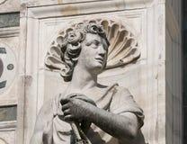 Certosa di Pavia Italy, historic church Stock Photos
