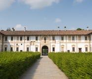 Certosa di Pavia (Lombardy, Italien) Royaltyfria Foton