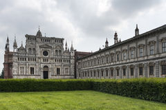 Certosa di Pavia (Lombardy, Italien) Royaltyfri Fotografi