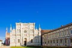 Certosa di Pavia Stock Photo