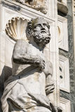 Certosa di Pavia Włochy, historyczny kościół Obraz Stock