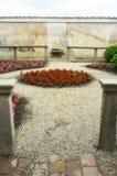 Certosa di Pavia, wewnętrzny szczegół koloru córek wizerunku matka dwa Zdjęcia Stock