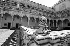 Certosa di San Martín Fotografía de archivo