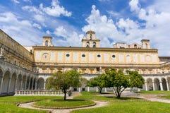 Certosa di San Martino Stock Images