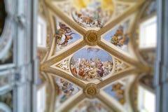 Certosa kościół w Naples Zdjęcie Royalty Free