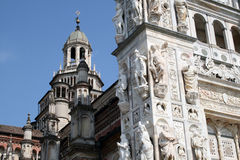 Certosa of Pavia Stock Photo