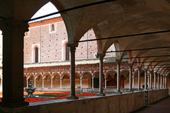 Certosa of Pavia Stock Photography