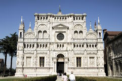 Certosa of Pavia, Lombardy, Italy Stock Photos