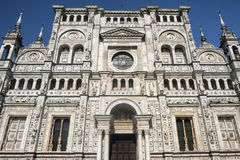 Certosadi Pavia Italië, historische kerk Royalty-vrije Stock Afbeelding