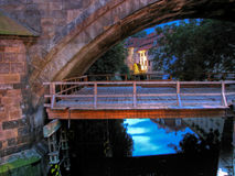 Certovka Canal in Prague Royalty Free Stock Photo